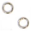 Jump Ring Round 5.5mmn OD 20gauge Nickel Soldered